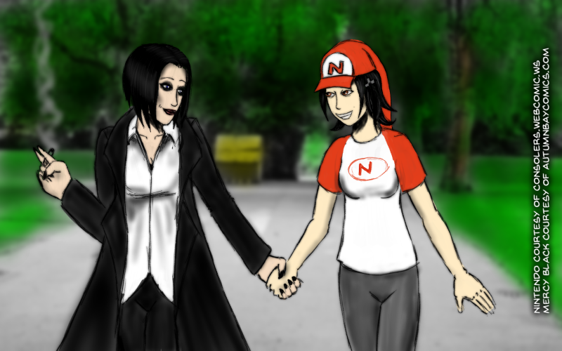 EXCHANGE - Shipping Meme crossover, Nintendo x Mercy by ProfEtheric