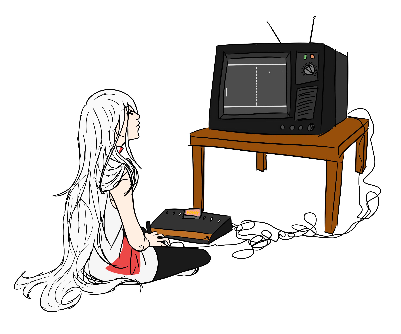 FANART- Atari by Kloda
