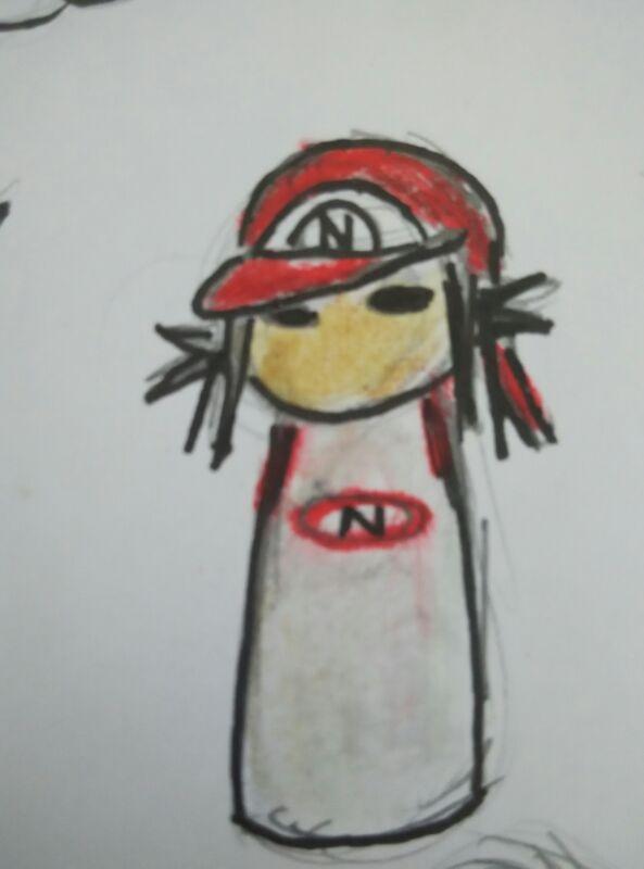 FANART - Nintendo tumbler doll from xianyu118