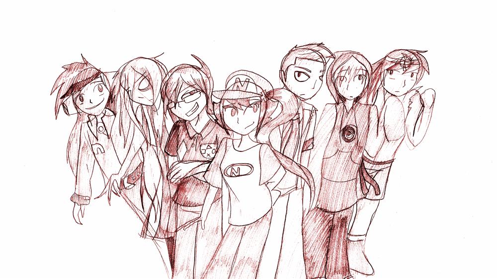 FANART - Group picture by JammyTheWerewolf